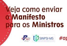 Read more about the article Próximo passo PL 30 Horas Psicologia – Envie Manifesto aos Ministros #aprovaDilma