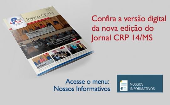 You are currently viewing Nova Edição do Jornal CRP 14/MS