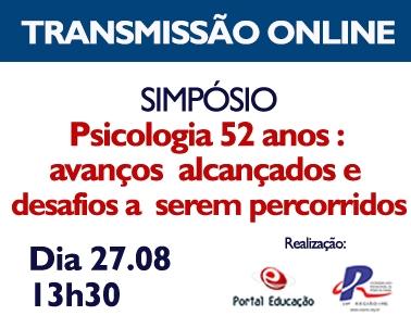 """You are currently viewing Simpósio Portal Educação: """"Psicologia 52 anos : avanços  alcançados e desafios a  serem percorridos"""""""