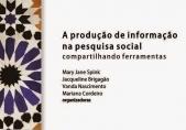 """You are currently viewing Site disponibiliza download do livro """"A produção de informação na pesquisa social"""""""