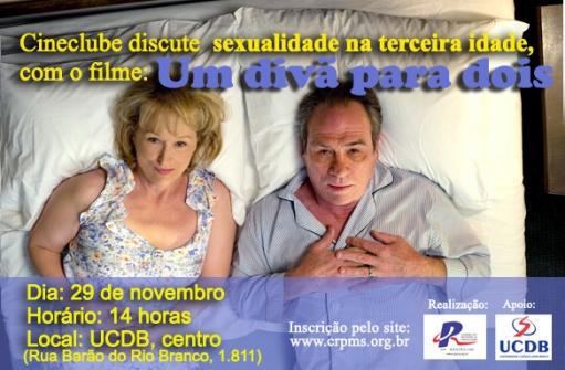 You are currently viewing Cineclube de novembro debate relacionamento e sexualidade na terceira idade