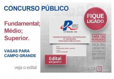 You are currently viewing CRP 14/MS abre Concurso Público para Campo Grande