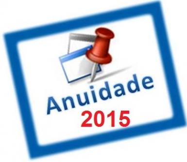 You are currently viewing Anuidade 2015 vence dia 31 de março