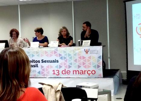 You are currently viewing Conselheira do 14 participa do Seminário: Perspectivas dos Direitos Sexuais e Reprodutivos no Brasil