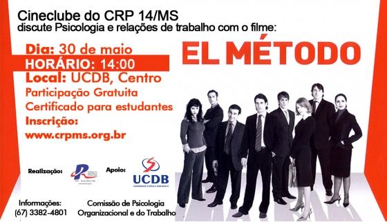 You are currently viewing Cineclube discute Psicologia e Organizações com o filme: El Método, as 14 horas