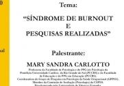 You are currently viewing Palestra: Síndrome de Burnout e Pesquisas Realizadas, dia 11/06