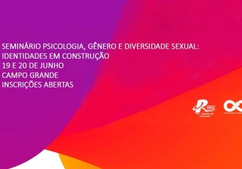 You are currently viewing CRP 14/MS realiza seminário de Gênero e Diversidade Sexual