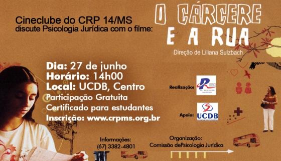 "You are currently viewing Cineclube de junho exibe ""O Cárcere e a Rua"", dia 27"