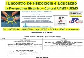 You are currently viewing I Encontro de Psicologia e Educação na Perspectiva Histórico
