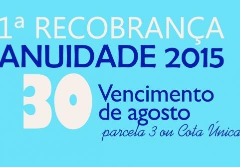 You are currently viewing Dia 30 vence última parcela da Recobrança