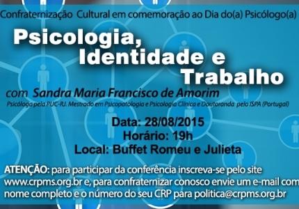 You are currently viewing CRP abre 40 vagas para acadêmicos participarem  da Conferência: Psicologia, Identidade e Trabalho