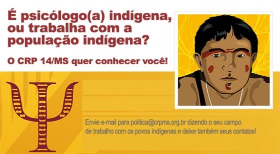 You are currently viewing É psicólogo(a) indígena, ou trabalha com a população indígena? Apresente-se!