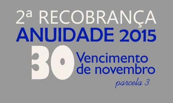 You are currently viewing 2ª Recobrança – Última parcela vence dia 30 de novembro