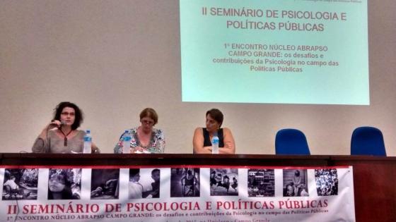 You are currently viewing Seminário destaca mobilização da psicologia sul-mato-grossense na discussão das práticas profissionais e suas relações com as políticas públicas