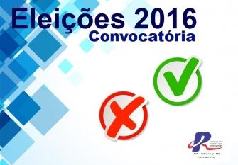 You are currently viewing Edital de Convocação para as Eleições 2016