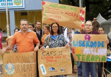 You are currently viewing Manifestação dos CAPS marca o dia da Luta Antimanicomial