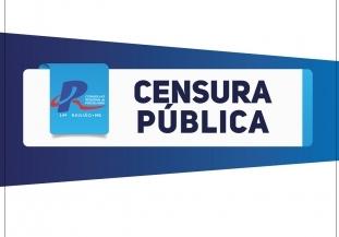 You are currently viewing CENSURA PÚBLICA – Processo Ético Disciplinar n. 004/2014/MS