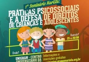 You are currently viewing (Informe Parceiro) Evento abordará  práticas psicossociais e defesas de direitos de crianças  e adolescentes