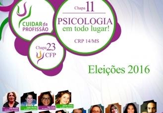 You are currently viewing Eleição CRP14/MS terá chapa única