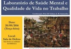 You are currently viewing Professor da Unicamp fará palestra relacionada a Saúde Mental e Trabalho