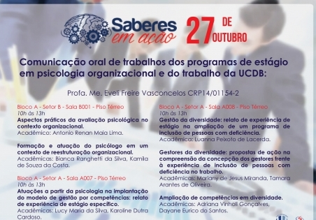 You are currently viewing [Informe Parceiro]  UCDB: Saberes em Ação apresenta trabalhos acadêmicos