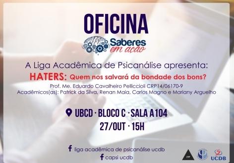 You are currently viewing [Informe Parceiro ] Acadêmica de psicanálise UCDB apresenta no saberes em ação