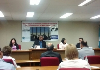 You are currently viewing CRP14/MS participa do debate contra a tortura