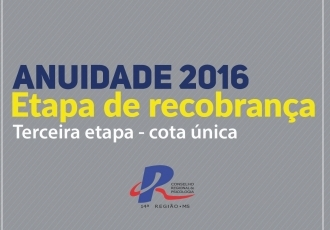 You are currently viewing Terceira recobrança do ano vence amanhã