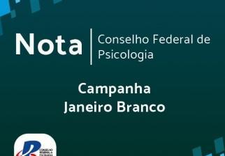 You are currently viewing Posicionamento sobre a campanha Janeiro Branco