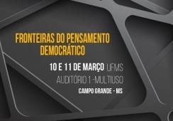 You are currently viewing CRP14/MS, em parceria com a UFMS, lança o projeto Fronteiras do Pensamento Democrático