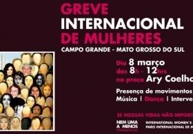 You are currently viewing CRP14/MS  participará da greve internacional de mulheres