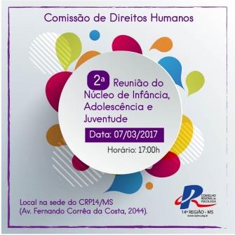 You are currently viewing CRP14/MS realiza 2ª reunião do Núcleo de Infância, Adolescente e Juventude