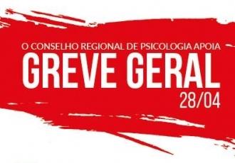 You are currently viewing CRP14/MS apoia Greve Geral e atividades retornam na terça-feira