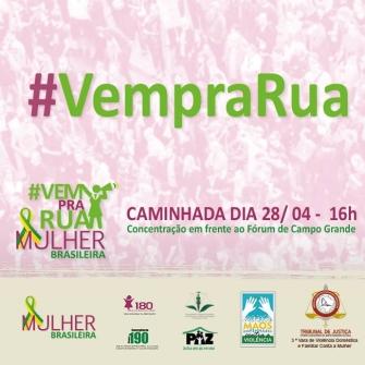 You are currently viewing Amanhã será realizada  a 2ª CAMINHADA Pela Paz – Mulher Brasileira – Todos emPENHAdos contra a violência (divulgação de terceiros)