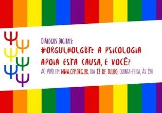 You are currently viewing Neste quinta, dia 13, CFP realiza um bate-papo online sobre OrgulhoLGBT