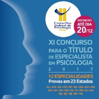 You are currently viewing CFP realiza XI Concurso de Provas e Títulos para Concessão do Título de Especialista em Psicologia e seu Respectivo Registro