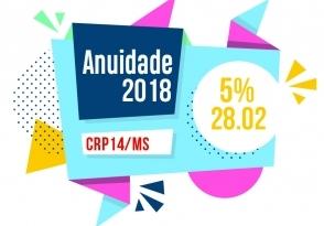 You are currently viewing Anuidade 2018 terá desconto de 5% até 28 de fevereiro