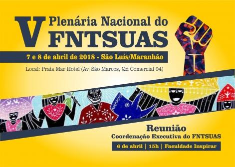 You are currently viewing Abril é o mês da V Plenária do FNTSUAS