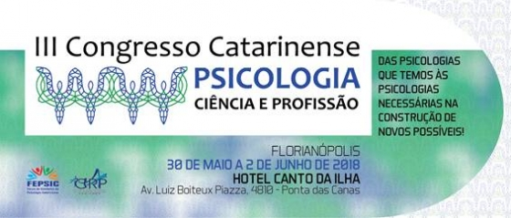 You are currently viewing III Congresso Catarinense de Psicologia Ciência e Profissão