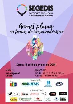 You are currently viewing IV Seminário de Gênero e Diversidade Sexual (Segedis) acontece entre dias 15 e 18