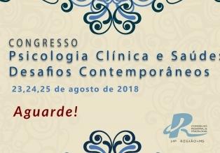 """You are currently viewing Congresso """"Psicologia Clínica e Saúde – Desafios Contemporâneos"""" será realizado em agosto"""