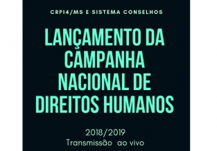 You are currently viewing Sistema Conselhos lançará  Campanha Nacional de Direitos Humanos de 2018/2019 nesta quinta-feira