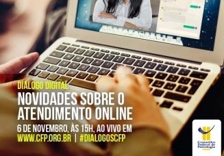 You are currently viewing CRP14/MS retransmite Diálogo Digital que debaterá novidades sobre o Atendimento On-line