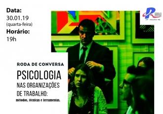 You are currently viewing Roda de Conversa sobre Psicologia nas Organizações de Trabalho será realizada em Dourados/MS