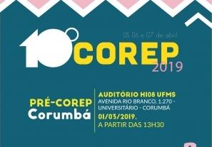 You are currently viewing Pré-Corep em Corumbá será realizado nesta sexta
