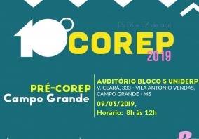 You are currently viewing Pré-Corep será realizado em Campo Grande neste sábado