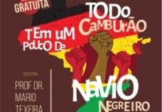 """You are currently viewing Palestra """"Todo camburão tem um pouco de navio negreiro"""" será realizada no dia 13 de maio em Campo Grande"""