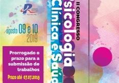 You are currently viewing Prazo para submissão de trabalhos ao II Congresso de Psicologia Clínica e Saúde vai até julho