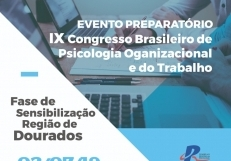 You are currently viewing Conselho realiza evento preparatório para o IX Congresso Brasileiro de Psicologia Organizacional e do Trabalho
