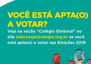 You are currently viewing Site Eleições 2019 disponibiliza consulta pelo Colégio Eleitoral